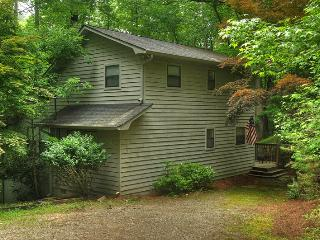 RIVERWALK- 3BR/2 BA CABIN ON THE COOSAWATTEE RIVER, SLEEPS 6, SCREENED IN PORCH, GAS GRILL, WOOD BURNING FIREPLACE, PLUS ALL THE AMENITIES OF THE COOSAWATTEE RIVER RESORT, STARTING AT $150 A NIGHT!, Blue Ridge