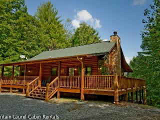 LAZY BEAR LODGE- 4BR/2BA- CABIN SLEEPS 10- WIFI, POOL TABLE, FIRE PIT, WOOD BURNING FIREPLACE, HOT TUB, AND GAS GRILL! STARTING AT $175 A NIGHT!, Blue Ridge