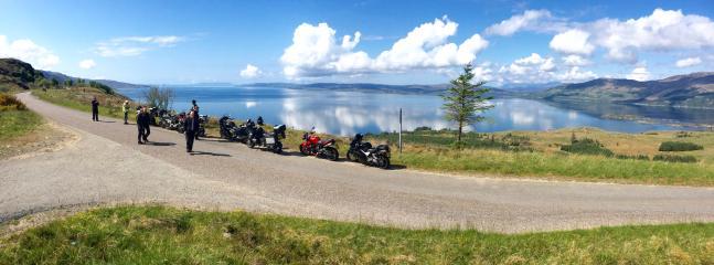West Coast, over looking Isle of Skye