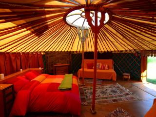 Traditional Mongolian Yurt on Ecofarmasturias
