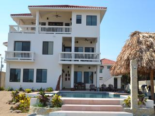 New 5 Bedroom Private Beach Front Custom Home, Placencia