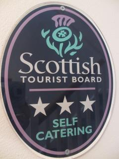 Scottish Tourist Board 2016 rating