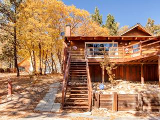 Quiet 2BR Green Valley Lake Cabin w/Private Deck & Amazing Mountain Backdrop - Easy Access to Big Bear, Lake Arrowhead, Snow Valley, & Other Attractions