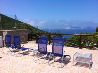 Casa indipendente vista mare 'Tre venti', Ponza Island