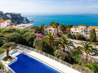 Lovely apartment with terrace and stunning sea view in Nice, sleeps 4