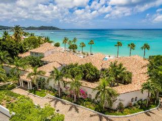PETITE PLAGE V... Stunning, Ultra Deluxe 5 BR Estate with private beach on St