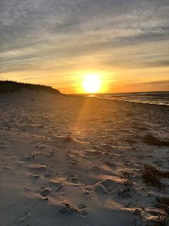 Sunset over Mayflower beach