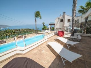 Villa Zagara Garden appartamento panoramico terrazza vista mare
