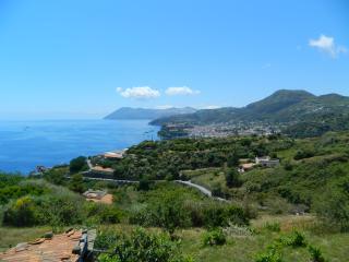 Villa panoramica serra Lipari 2+2