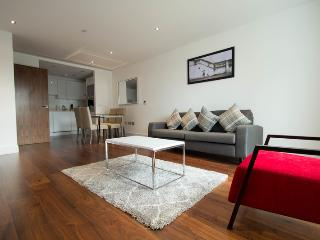 MODERN TWO BED APT IN LINCOLN PLAZA, CANARY WHARF