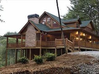 Luxury Log Home with Outdoor Woodburning fireplace and much more.