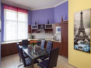 Cozy 3-bedroom apt. V8, 300m from Wenceslas Sq., Praga