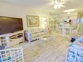 Hibiscus Resort - D203, Ocean View, 2BR/2BTH, 3 Pools, Wifi, Saint Augustine