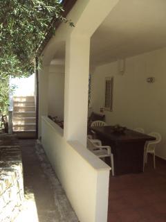 villetta - esterno veranda