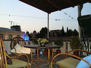 RUSTAVELI AVE. (3 rooms + 25sqm verandah) !!!, Tbilisi