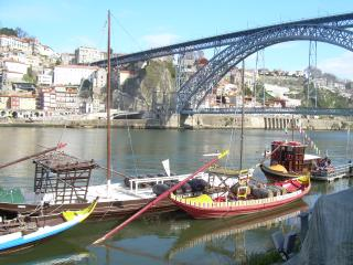 Estudio acolhedor em frente ao Rio Douro
