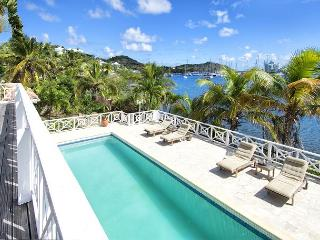 Marinafront private villa with 40-foot pool and sundeck | Island Properties, St. Maarten/St. Martin