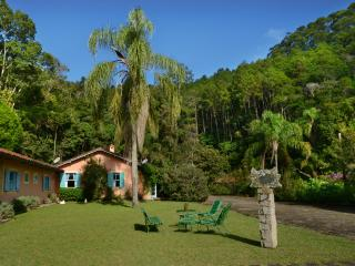 House on herb farm in the hills of Rio de Janeiro
