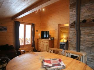 Appartement en chalet avec spa, sauna et piscine, Saint-Gervais-les-Bains