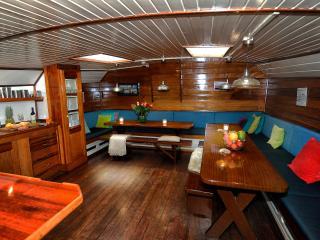 """Classic Boat """"Boreas"""", Amsterdam"""