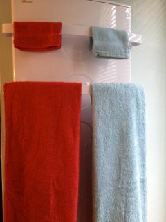 serviettes de toilettes.