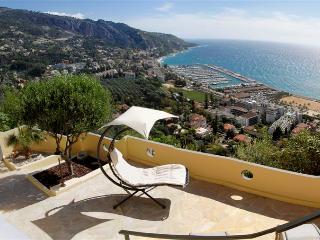 Villa Les Citronniers vue mer