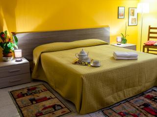 La Mimosa Ampia camera doppia completa di armadio, comò, TV e tutto quanto necessita per trascorrere