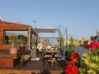 Central/ Huge privat terrace & amazing view, Barcelona