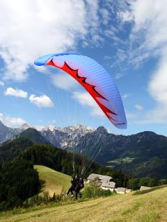 Our sports: Paragliding