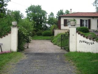 Villa style house with private secluded pool, Villereal