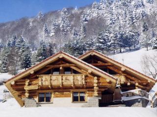 La fuste des Chamois - Chalet en rondin 5* & sauna