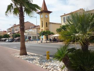 F2 en rez de jardin à 150m des plages et commerces, Cagnes-sur-Mer