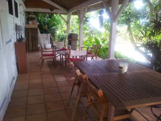 appartement avec terrasse et jardin, Le Lamentin