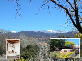 Adobe-style casita with mountain views, Santa Fe