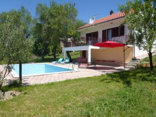House with a pool near Split, Trilj