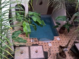 Riad familial a Marrakech.