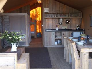 Glamping on a vineyard, luxury camping Montazellis, Alignan-du-Vent