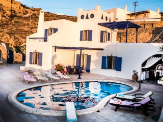 VILLA DOLFINO-with private pool#30% DISCOUNT 2016#, Ciudad de Míkonos