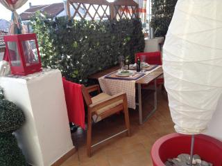 Attico Terrazzo appartamento Wi-fi Bus 33 fronte fermata(Capriolo) Parco Ruffini