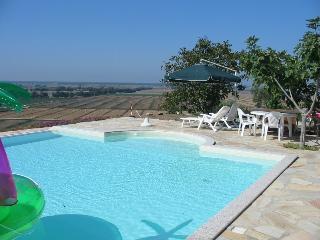 Appartamento in villa con piscina panoramica