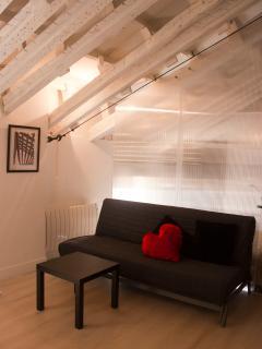 Interior del apartamento.