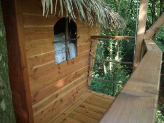 cabane dans les arbres en Bretagne, Cleder