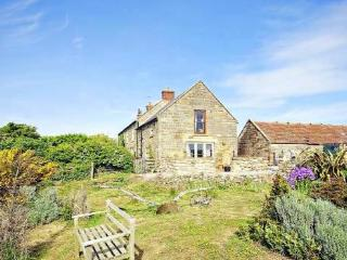 Manor house with gardens-Ancient Moated Farmstead, Staithes