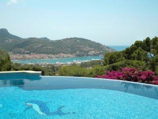 Villa Jasmin mit Pool und Hafenblick, Port d'Andratx
