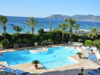 Appartement climatisé 3 pièces, Vue mer, 6 pers, Cannes