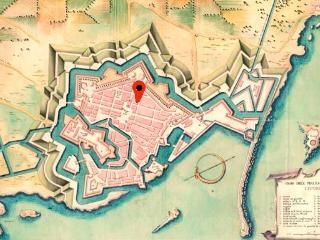 Nel Pentagono del Buontalenti, Livorno