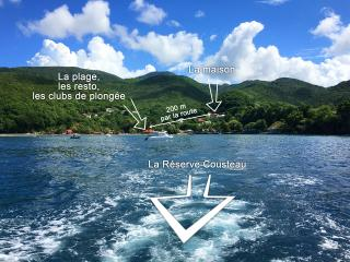 Location face a la Reseve Cousteau