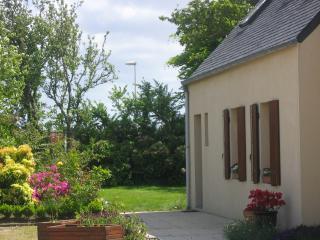 Gite : bord du GR34(Aber Ildut) Breles, Finistere, entre Le Conquet et Portsall