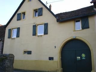 Gîte corps de ferme sur la route des vins Alsace, Orschwihr
