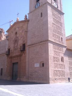 local cathedral in Alhama